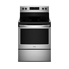 30-Inch 5.3 cu.ft. Single Oven Electric Range with Self-Cleaning in Stainless Steel