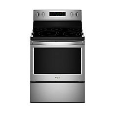 5.3 cu.ft. Electric Range with Self-Cleaning Convection Oven in Fingerprint Resistant Stainless Steel