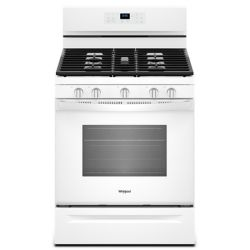 Whirlpool 5.0 cu. ft. Gas Range with Fan Convection Oven in White