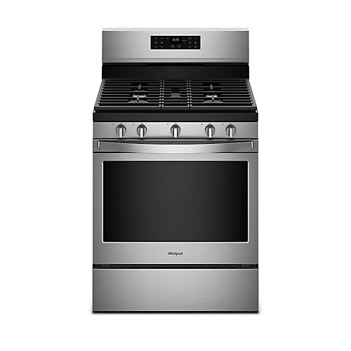5.0 cu. ft. Gas Range with Fan Convection Oven in Fingerprint Resistant Stainless Steel