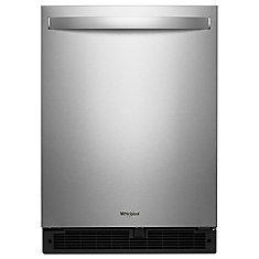 Réfrigérateur sous le comptoir Whirlpool® avec tablettes en verre, 24 po, 5,6 pi3
