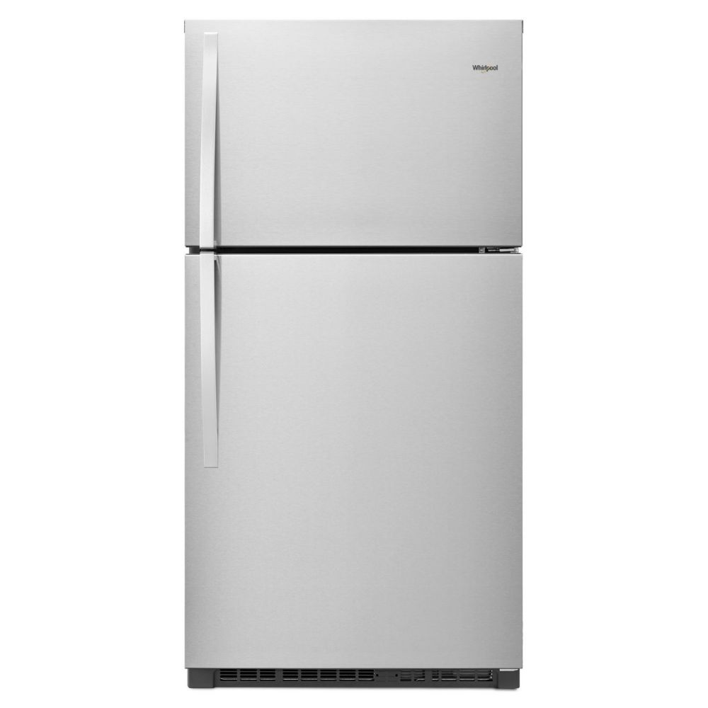 Whirlpool 33-inch Wide Top-Freezer Refrigerator - EZ Connect Icemaker Kit Compatible - 21.3 cu. ft.