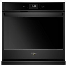 30-inch 5 cu. ft. Electric Single Oven with True Convection in Black
