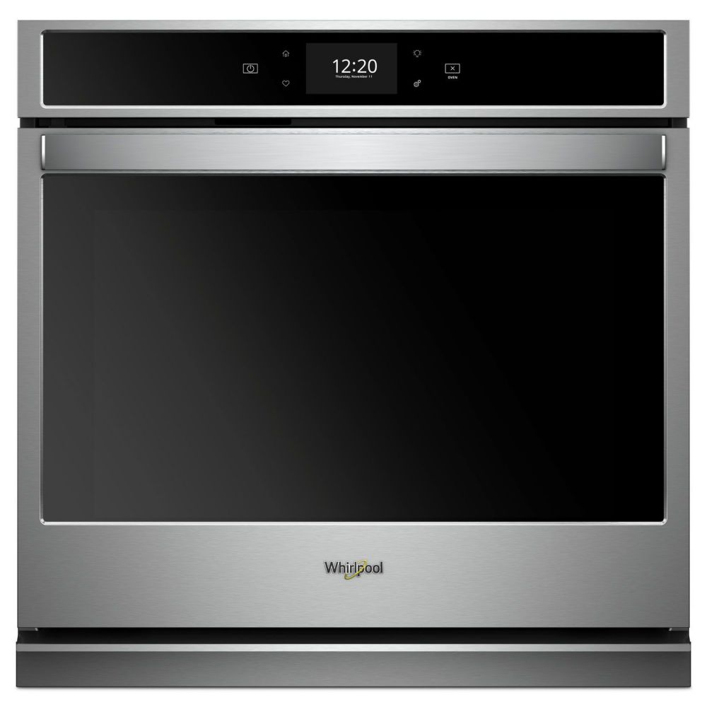 Whirlpool 27-inch 4.3 cu. ft. Electric Single Oven with True Convection in Stainless Steel