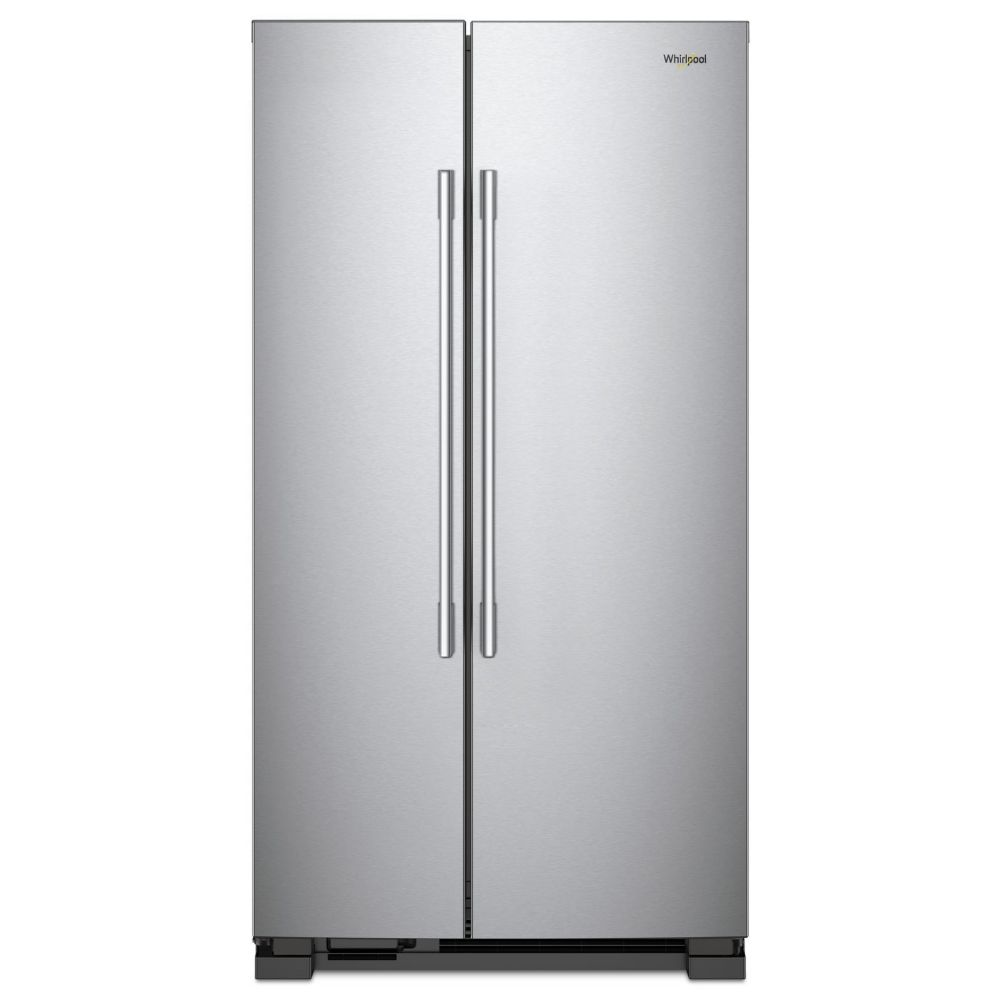 Whirlpool 36-inch 24.93 cu ft Full-Depth Side-by-Side Refrigerator in Stainless Steel
