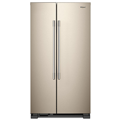 36-inch W 25 cu. ft. Side-by-Side Refrigerator in Sunset Bronze