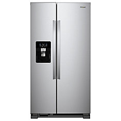 33 Inch W 21 22 Cu Ft Side By Refrigerator With