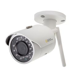 Q-See 3MP Wi-Fi Wireless Indoor/Outdoor Bullet Security Surveillance Camera with 16GB SD Card