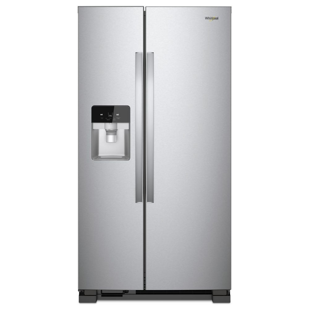 Whirlpool 36-inch 24.49 cu. ft. Side-by-Side Refrigerator in Finger Print Resistant Stainless Steel