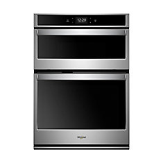 27-inch Double Electric Wall Oven with Self-Cleaning Convection Oven in  Stainless Steel