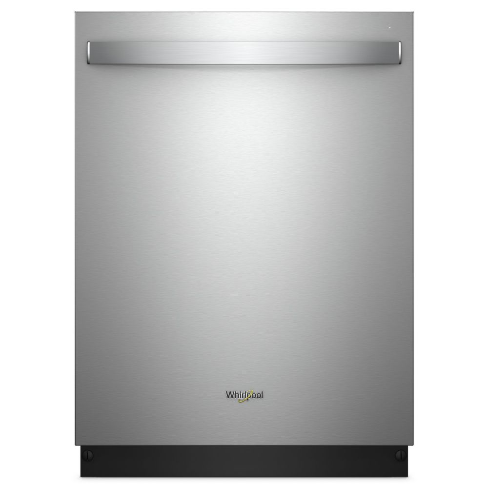 Whirlpool Top Control Dishwasher in Finger Print Resistant Stainless Steel with Stainless Steel Tub, 47 dBA WDT750SAHZ