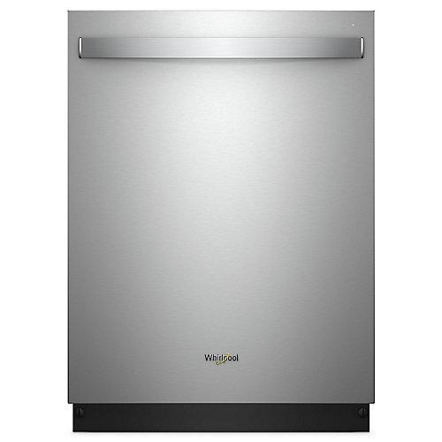 Lave-vaisselle Top Control en acier inoxydable résistant aux empreintes digitales avec cuve en acier inoxydable, 47 dBA - ENERGY STAR
