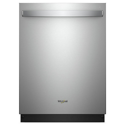 Top Control Dishwasher in Stainless Steel with Stainless Steel Tub, 47 dBA - ENERGY STAR®