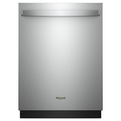 Lave-vaisselle intelligent Top Control en acier inoxydable avec cuve en acier inoxydable, 47 dBA - ENERGY STAR
