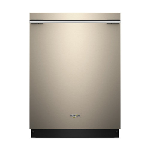 24-inch Top Control Smart Dishwasher in Sunset Bronze with Stainless Steel Tub - ENERGY STAR®