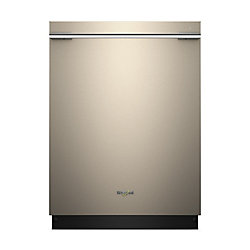 Top Control Smart Dishwasher in Sunset Bronze with Stainless Steel Tub, 47 dBA - ENERGY STAR®