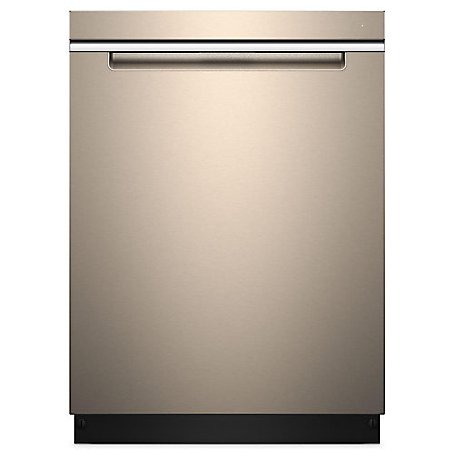 24-inch Top Control Dishwasher in Sunset Bronze with Stainless Steel Tub - ENERGY STAR®