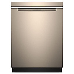 Top Control Dishwasher in Sunset Bronze with Stainless Steel Tub and Pocket Handle, 47 dBA - ENERGY STAR®