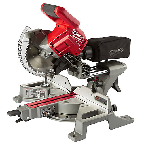 M18 FUEL 18V Lithium-Ion Cordless 7-1/4-Inch Dual Bevel Sliding Compound Miter Saw (Tool-Only)