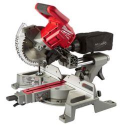 Milwaukee Tool M18 FUEL Scie à onglets coulissante sans fil 18V à double biseau de 7-1/4 po (outil seulement)