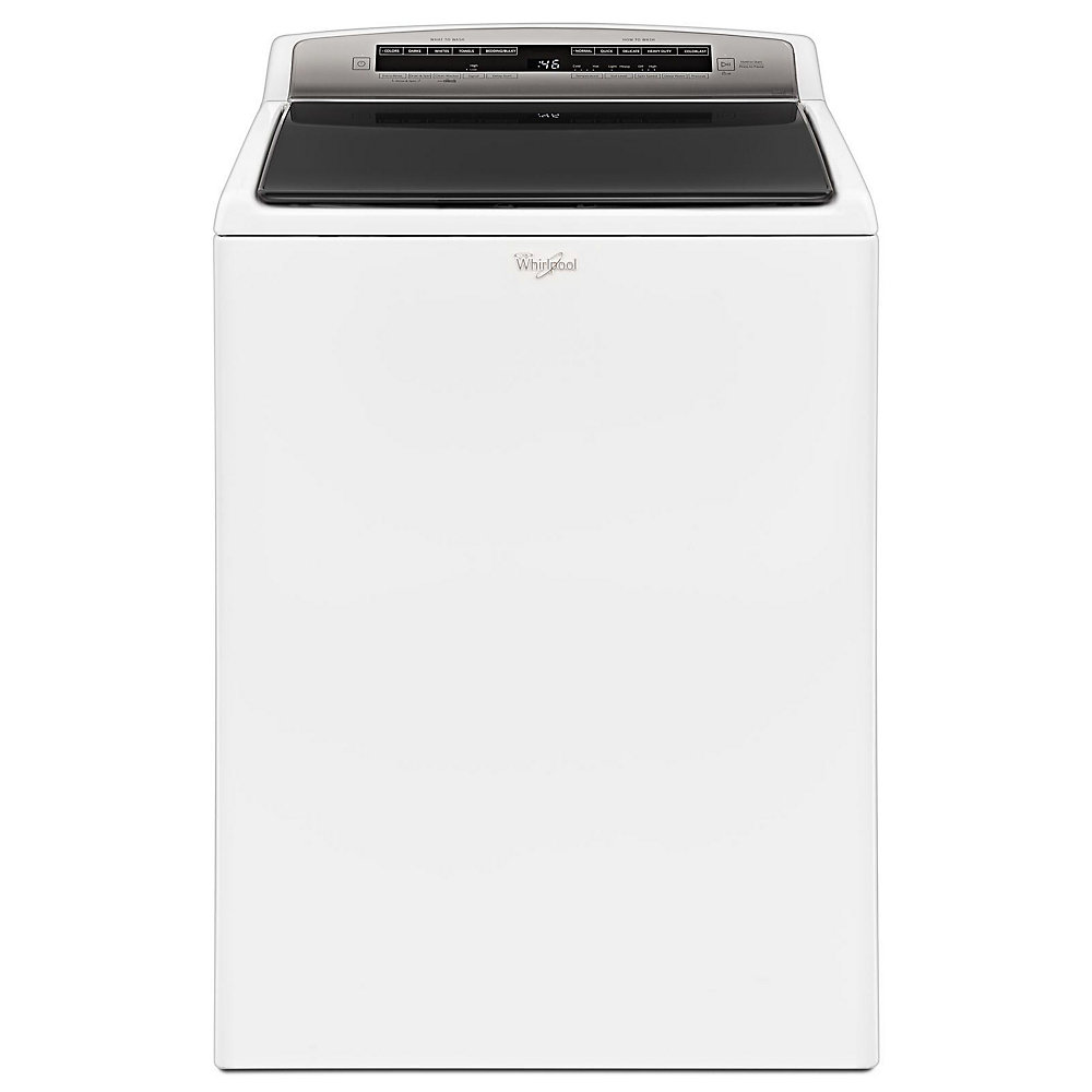 5.5 cu. ft. High Efficiency Top Load Washer with Water Faucet in White - ENERGY STAR®