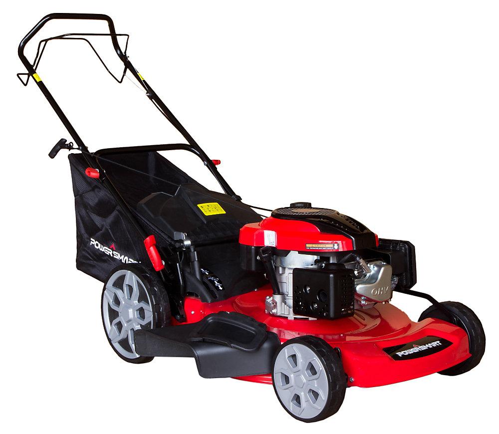 22-inch 3-in-1 196cc Gas Self Propelled Lawn Mower
