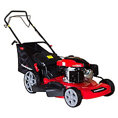 22-inch 3-in-1 196cc Gas Self Propelled Lawn Mower