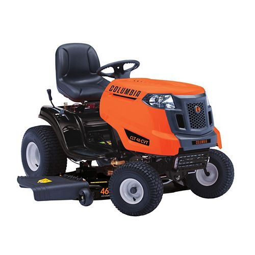 Columbia 46-inch 547cc Gas Lawn Tractor with Automatic Transmission