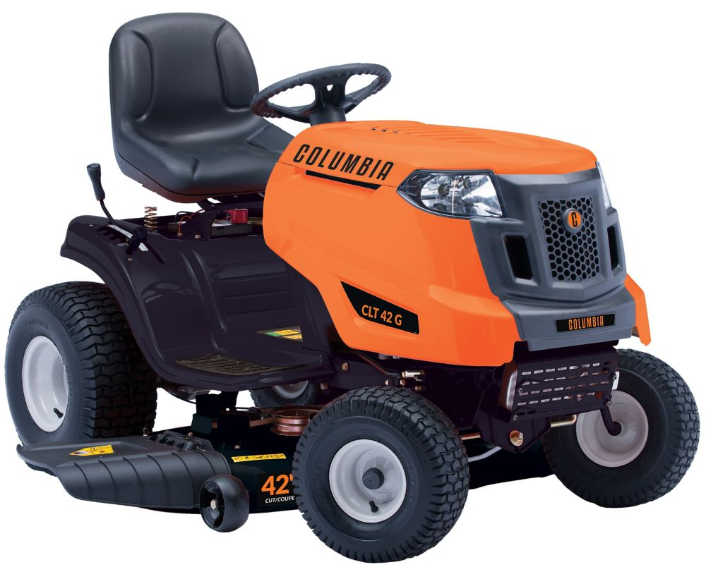 Columbia 42-inch 547cc Gas Lawn Tractor with Side Discharge 13A877KS897