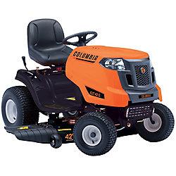 Tracteur de pelouse à essence avec éjection latérale, 547 ch, 42 po