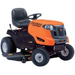 Columbia Tracteur de pelouse à essence avec éjection latérale, 547 ch, 42 po