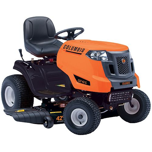 Columbia 42-inch 547cc Gas Lawn Tractor with Side Discharge