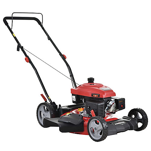 21-inch 161cc Gas 2-in-1 Push Lawn Mower