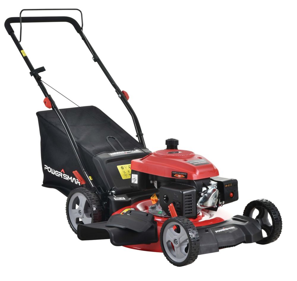 PowerSmart 21 inch 161CC 3-in-1 Push Lawn Mower