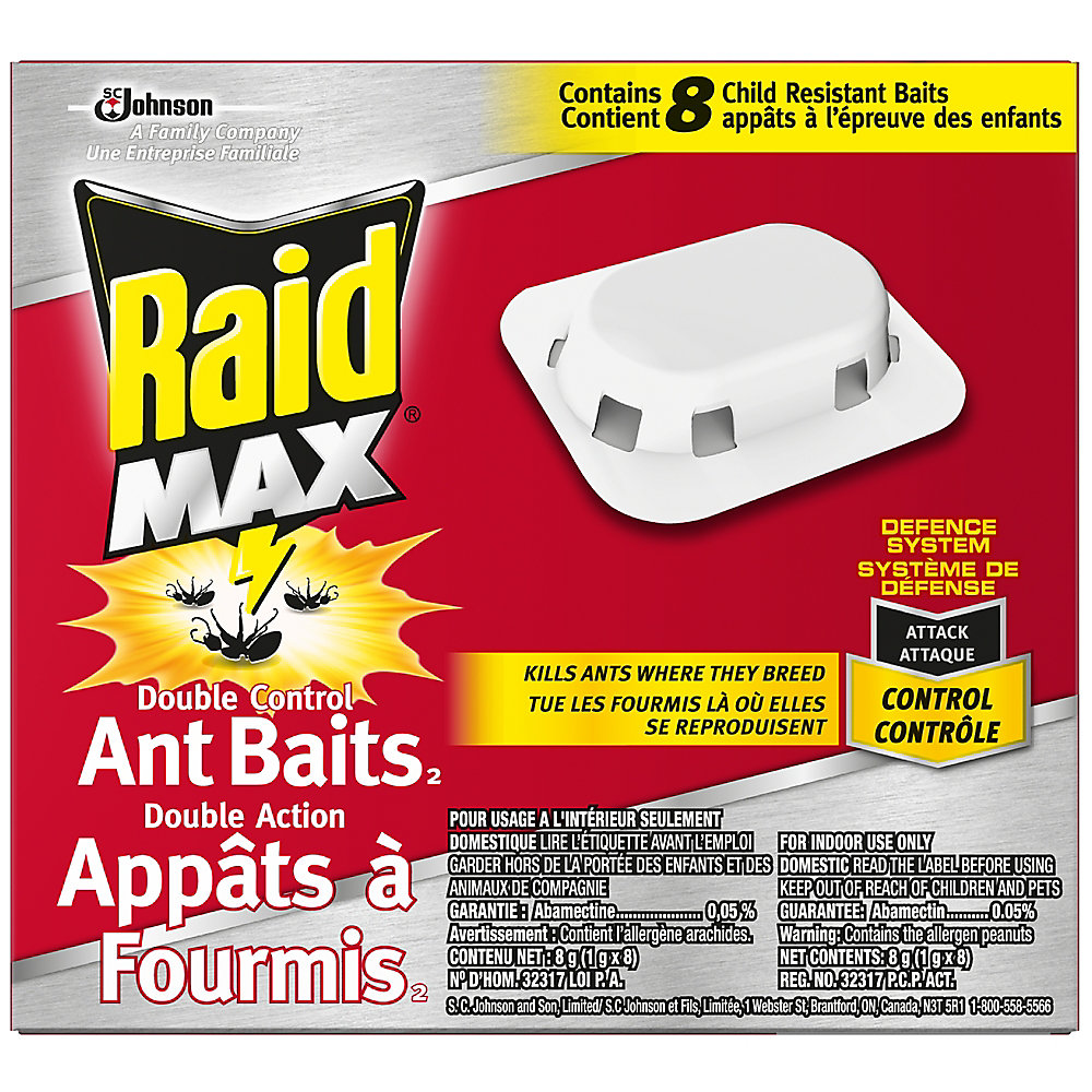 Max Double Control Ant Baits 2 - 8 ct