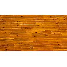 Acacia Wood Kitchen Island Top - 74 inch x 36 inch x 1 inch, Espresso