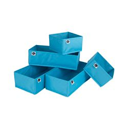 South Shore Blue Drawer organizers