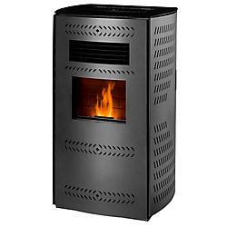 Englander Imperial 2,200 sq/ft Pellet Stove with Rounded Panels