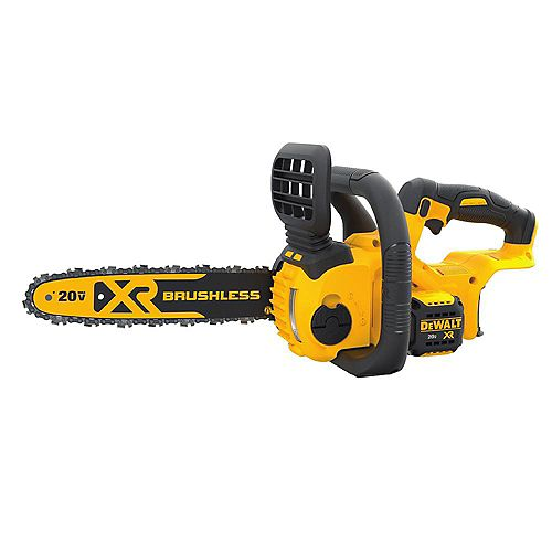 DEWALT 12-inch 20V MAX XR Lithium-Ion Cordless Brushless Chainsaw (Tool Only)