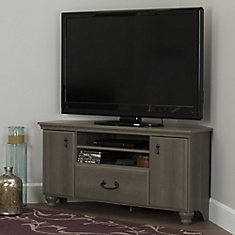 Noble Corner TV Stand for TVs up to 55'', Gray Maple