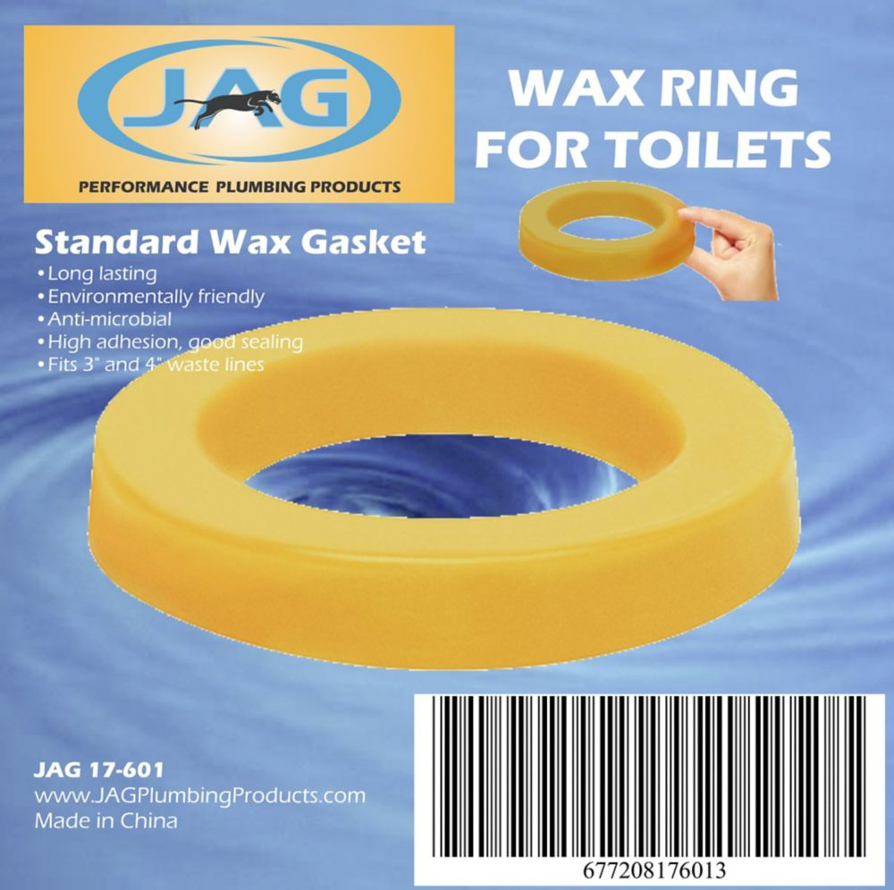 Jag Plumbing Products Jag for Plumbers-12 Pack Wax Gaskets
