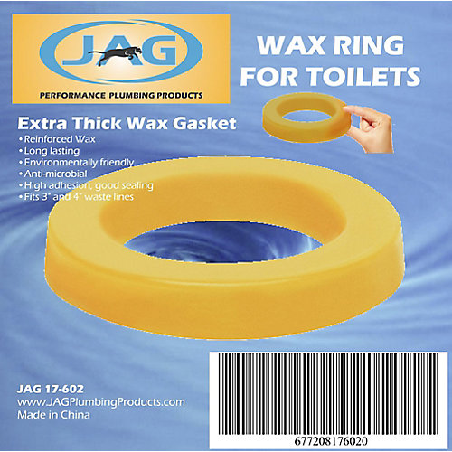 Jag for Plumbers Wax Gasket - Extra Thick (12-Pack)