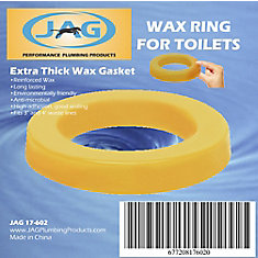 Jag for Plumbers-12 Pack Wax Gasket - Extra Thick