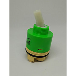 Jag Plumbing Products Replacement 40mm Ceramic Cartridge, Fits Many Applications