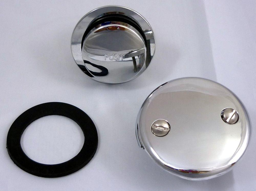 Jag Plumbing Products Touch-Toe Clicker Bath Drain Trim Kit , Chrome