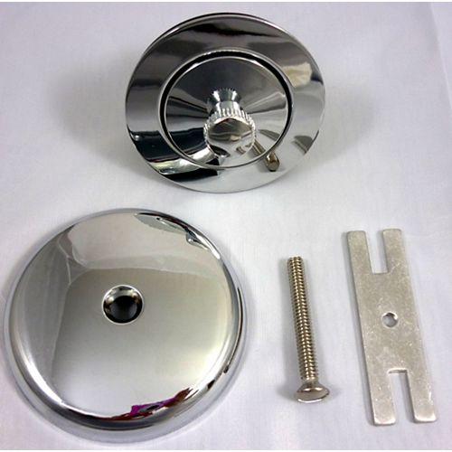 Jag Plumbing Products Lift-and-Turn Bath Drain Trim Kit, Chrome