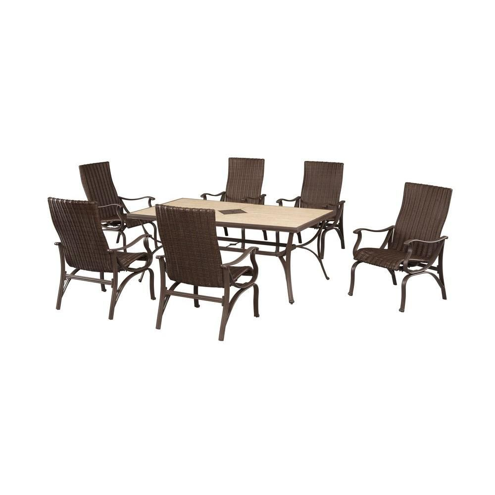 Hampton Bay Pembrey 7 piece Dining Set