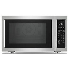 1.5 cu. ft. Countertop Convection Microwave in Stainless Steel, with Sensor Cooking
