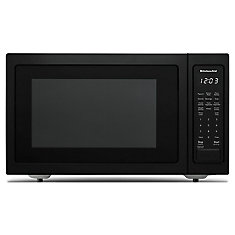 1.5 cu. ft. Countertop Convection Microwave in Black Stainless Steel