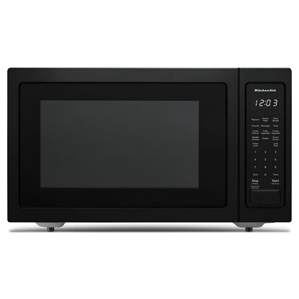 KitchenAid 1.5 cu. ft. Countertop Convection Microwave in Black Stainless Steel